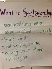 Ms. Sepp's Counselor Corner: Good Sportsmanship