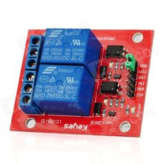 2-Channel Relay Shield Module for Arduino (Works with Official Arduino Boards). Color: Red - Quantity: 1 - Material: Circuit board - Control signal: TTL - Rated load: AC125~250V/10A, DC28~30V/10A - Rated current: 10A(NO), 5A(NC) - Max. switch voltage: 250VAC, 30V - Suitable for high current or high voltage equipment controlled by Arduino digital IO port - Arduino Relay Shield provides 2-way input and output, Max. AC 250V/10A or DC 24V/10A - Easily connected with Arduino expansion board…