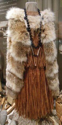 dress of COAST-SALISH people