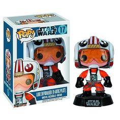 Luke Skywalker X-Wing Pilot Star Wars Funko Pop! Vinyl Figure Bobble Head « Atomic Toy Store Atomic Toy Store