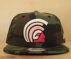 MUA (CAMO x PINK) NEW ERA SNAPBACK BY FITTED