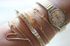 I Spy DIY: [My DIY] Safety Pin Bracelet