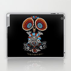 Mexican Owl Laptop & iPad Skin by Msimioni - $25.00