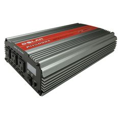 Century Triple Outlet 1500W Power Inverter, Grey