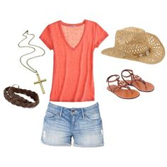 summer, created by lisa-poole-fowler on Polyvore