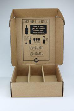 Cajas para botellas de vino, una, dos o tres unidades, serigrafia en su interior y exterior. Interiores para la protección de la botella.  http://www.artboxes.es/blog.html