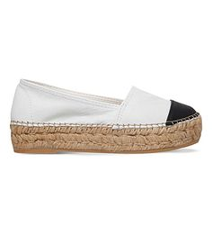 KG BY KURT GEIGER Mellow leather espadrilles