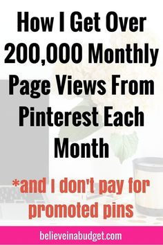 Pinterest remains my top referral source for driving traffic to my blog each month. In fact, over 90% of my monthly traffic comes directly from Pinterest. I also have extremely low Pinterest followers, so anyone can implement my strategy.