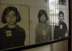 Khmer Rouge Victims, Tuol Sleng, Phnom Penh. I have been here and all I can say is, What a powerful place