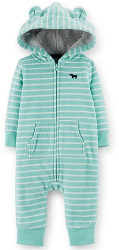 Carter's Baby Boys' Hooded Coverall