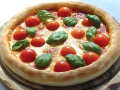 Rezept: Hanf-Pizza hanfsamen u Vollkornmehl