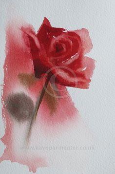 Kaye Parmenter Red Rose 2