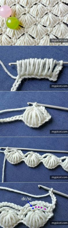 Watch This Video Beauteous Finished Make Crochet Look Like Knitting (the Waistcoat Stitch) Ideas. Amazing Make Crochet Look Like Knitting (the Waistcoat Stitch) Ideas. Crochet Diy, Love Crochet, Crochet Motif, Crochet Crafts, Yarn Crafts, Crochet Flowers, Crochet Projects, Mermaid Crochet Blanket, Puff Stitch Crochet