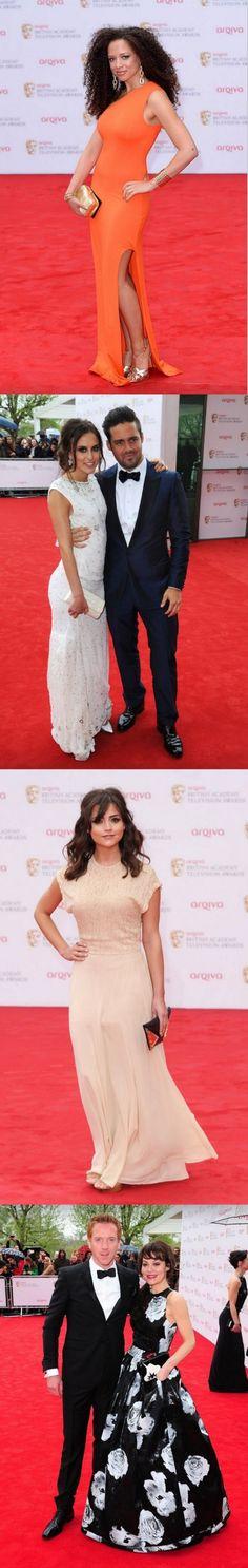 BAFTA TV Awards 2013 Red Carpet Fashion - Helen McCrory, Natalie Gumede, Spencer Matthews and Lucy Watson - http://www.becauseiamfabulous.com/2013/05/bafta-tv-awards-2013-red-carpet-fashion-helen-mccrory-natalie-gumede-spencer-matthews-and-lucy-watson/