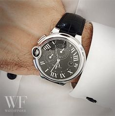 It's all about style and elegance… #Cartier Ballon Bleu