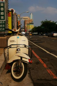 "awesome! ""Vespa in Taiwan."""