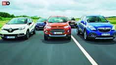 5 SUV IM TEST Opel jagt den Ford fort