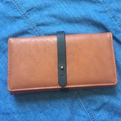 Wallet Cute brown and black wallet. FITS SO MUCH. perfect for a night out. Bags Wallets