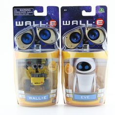 Wall-E Robot Wall E & EVE PVC Action Figure Collection Model Toys Dolls