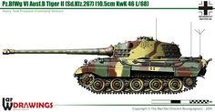 Pz.BfWg VI Ausf.B Tiger 2 (Sd.Kfz.267)