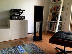 Rega RP10, Sugden Integrated Amplifier Harbeth Speakers
