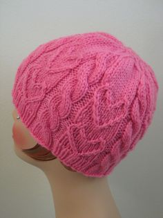 Free Knitting Pattern - Hats: Sweetheart Beanie