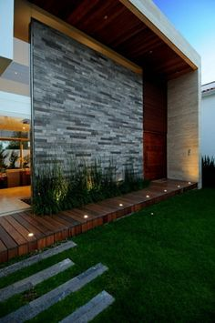 Pacific Luxury Apartment Homes Modern Pergola Designs, Exterior Wall Cladding, Retreat House, Contemporary Building, House Front Design, Simple House, My House, Outdoor Living, Nyc