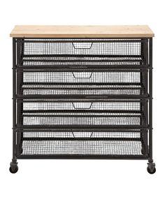 Another great find on #zulily! Metal Storage Cabinet #zulilyfinds