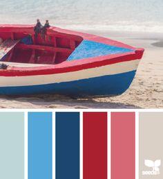 color ashore  - voor meer kleur inspiratie kijk ook eens op http://www.wonenonline.nl/interieur-inrichten/interieur-kleur/