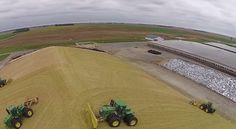 Video: CY Harvesting, Silage 2014 - 92,833 Ton Pile -Chopping Corn Silage at East Dublin Dairy