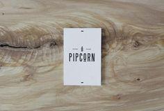 Pipcorn by Freddy Taylor & Noah Collin Graphic Design Branding, Corporate Design, Identity Design, Packaging Design, Logo Design, Visual Identity, Design Design, Typography Logo, Typography Design