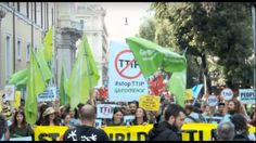Thousands Rally Against TTIP, GMO & Wars In Rome