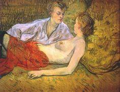 Toulouse Lautrec - Two Friends, 1895