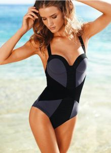 6387de628c582 Need to buy for my next vacation... a SPANX bathing suit. Great