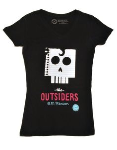 Want a classic book on a t-shirt? go to outofprintclothing.com  Not only are they spreading the love of reading, for every t-shirt we buy, they donate a book through their partner Books for Africa.