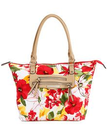 Boston & Bailey Paradise Pocket Shopper Bag product photo