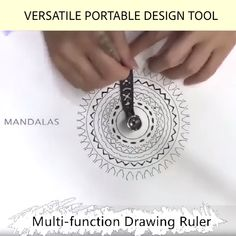 Versatile Portable Design Tool Multi-function Drawing Ruler(BUY 1 GET OFF) Designed for portability, this is intended to be a portable stationery item that fits in your notepad like a glove. Diy And Crafts, Arts And Crafts, Paper Crafts, Protractor, Stationery Items, Drawing Tools, Gear Drawing, Drawing Guide, Tool Design