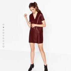 Zara dress, never been worn, has tags on still. Was bought for £30.00. Want £20.00. Will fit size 8. #zara #dress #oxblood #oxblooddress #zaradress #fashion