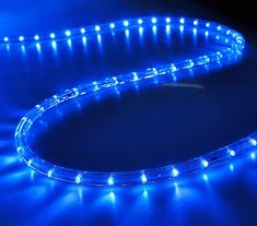 DELight 50 FT Blue 2 Wire LED Rope Light Indoor Outdoor Home Holiday Valentines Party Disco Restaurant Cafe Decor >>> Click image for even more details. (This is an affiliate link). Holiday Lights, Christmas Lights, Outdoor Christmas, Christmas Home, Led Decorative Lights, Workshop, Led Rope Lights, Party Lights, Light Decorations