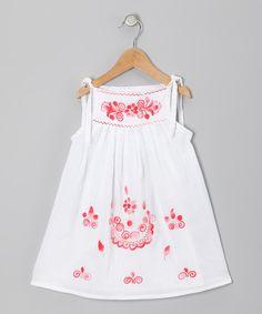 Little Cotton Dress Coral Lorena Dress - Infant, Toddler & Girls by Little Cotton Dress #zulily #zulilyfinds