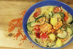 Food and Fotos - life of a vegan: Ingwer-Linsengemüse