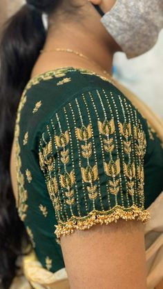 Cutwork Blouse Designs, Wedding Saree Blouse Designs, Simple Blouse Designs, Stylish Blouse Design, Blouse Neck Designs, Sleeve Designs, Designer Blouse Patterns, Hand Embroidery Design Patterns, Traditional Blouse Designs