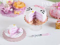 Red velvet cakes, Velvet cake and Hello kitty