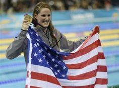 `Missile Missy' is tearing up Olympic pool