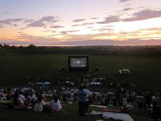 More than 20 places to watch free outdoor movies in Utah. #Summer #family #activities