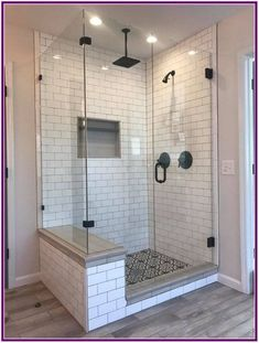 38 awesome master bathroom remodel ideas on a budget 28 - Bathroom remodel master - Bathroom Decor Bathroom Renos, Bathroom Renovations, Basement Remodeling, Bathroom Makeovers, Remodeling Ideas, Bathroom Cabinets, House Remodeling, Bathroom Mirrors, Bathroom Glass Wall