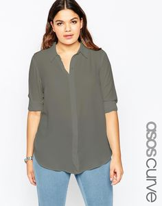 ASOS CURVE Casual Blouse
