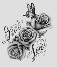 Dibujos De Rosas Hermosas 2016 - imagenesdeamorparadibujar.net                                                                                                                                                                                 Más