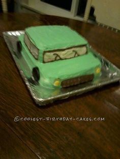 Coolest Car Birthday Cake for a 2-Year-Old