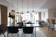 The Carlsberg City - Bohrs Tower - Picture gallery Scandinavian Apartment, Scandinavian Style, Danish Style, Room Pictures, Dining Room Design, Copenhagen, Dining Table, Interior Design, Modern